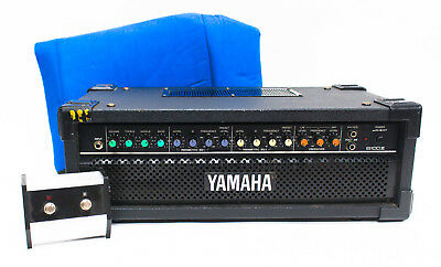 $245 • Buy Yamaha B100 III Bass Amplifier Head With Footswitch And Amp Cover
