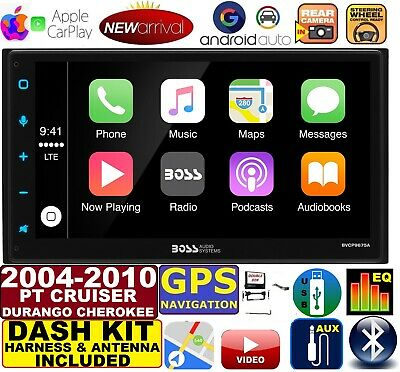 $329.99 • Buy 2004-10 Pt Cruiser Durango Grand Cherokee Gps Apple Carplay Car Stereo