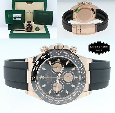 $ CDN50485.67 • Buy Rolex Daytona 116515LN 40mm 18K Rose Gold Cosmograph Oysterflex BOX/CARD *NEW*