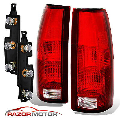 $42.98 • Buy 88-99 Tail Lights Pair For Chevy/GMC Silverado Tahoe Sierra + Connector Circuit