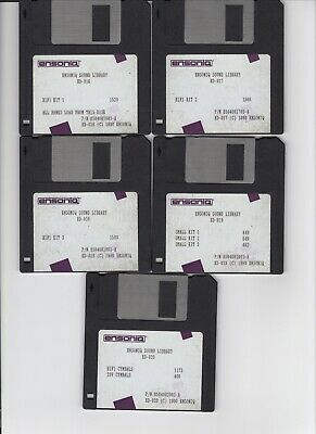 $25 • Buy Ensoniq Sl-1 Series Eps / Eps16+ / Asr 10/88 (5) Disk Set