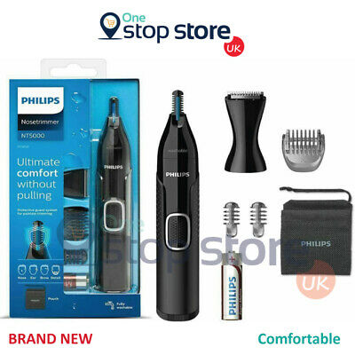AU44.31 • Buy Philips Nose Hair Trimmer Series 5000 Nose Ear And Eyebrow Trimmer NT5650/16