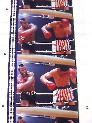 Rocky 3. 1 Strip Of 5 Unmounted Film Cells Take Your Pick Strips Pack Blue • 1£