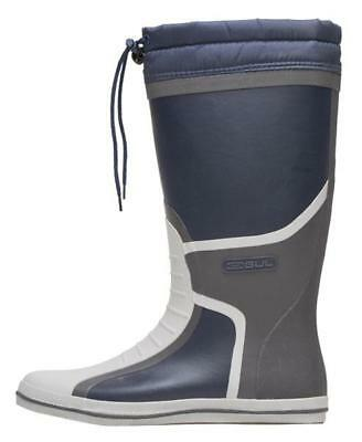 GUL Full Length Waterproof Navy Deck Boot Boots Rowing Sailing Camping Wellies • 45.99£
