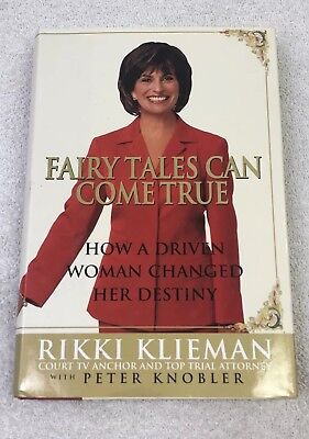 $ CDN33.39 • Buy RIKKI KLEINMAN SIGNED Hardcover First Edition Fairy Tales Can Come True