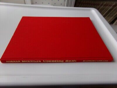 $ CDN5.02 • Buy Vtg 1977 Norman Rockwell's Counting Book Oversized 9x12  Hardcover Book Flaw