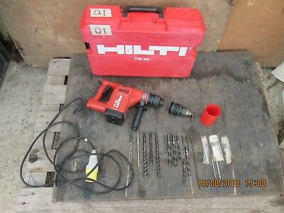 £240 • Buy Hilti - Te14 - Drill / Hammer / Chisel - 110v - Made In Germany - 550 Watts