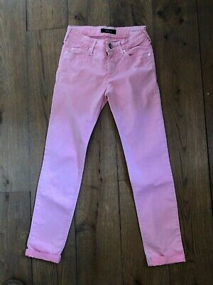 £9.99 • Buy Girls Replay Jeans Size 10 Years In Pink Super Skinny Regular 142cm Worn Once