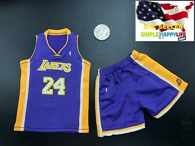 $32.54 • Buy 1/6 Scale Kobe Lakers Blue Jersey #24 For Hot Toys Phicen Enterbay Body ❶USA❶