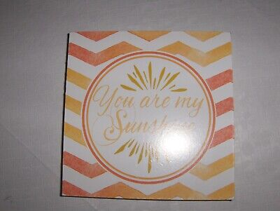 YOU ARE MY SUNSHINE WALL HANGING OR TABLE- Canvas • 3.76£