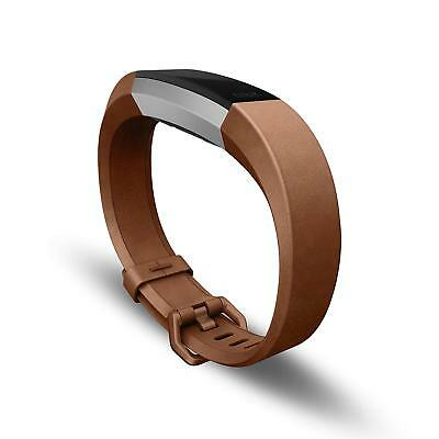 $ CDN52.35 • Buy NEW GENUINE FitBit Alta HR Accessory Bracelet Replacement Band Brown Leather Lrg