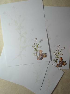 Forget Me Not Fairy Letter Writing Paper Set With Matching Envelopes 20+10 • 3.95£