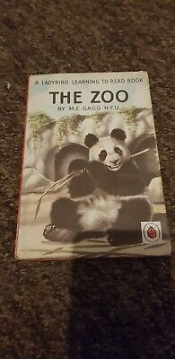 Vintage Ladybird Series 563 The Zoo Learning To Read M E Gagg N.F.U  • 5.29£