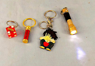 Lot Of 4 Collectible Keychains Novelty Flash Light Dice Casino De-hno-e • 5$