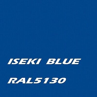 £16.45 • Buy ISEKI BLUE RAL5130 Agricultural Machinery Enamel Gloss Paint Brush Or Spray