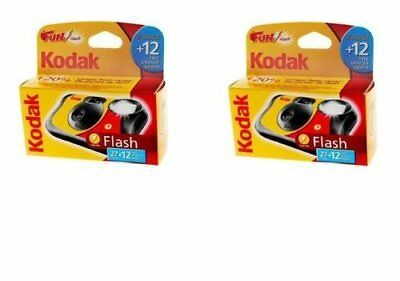 £29.95 • Buy Kodak FunSaver Single Use Disposable Cameras With 39 Exposures - PACK Of 2