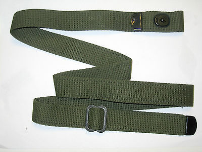 $13.65 • Buy OD GREEN COTTON RIFLE SLING  For M1 CARBINE Inland, Rockola,, Winchester, Ww2