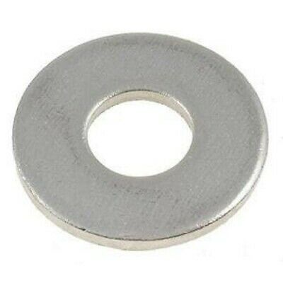 AU4.20 • Buy M8 (8mm) Flat DIN125 Washer (16.0mm X 1.6mm) - Stainless Steel G304