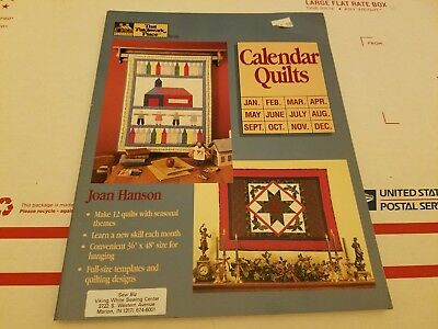 $5 • Buy That Patchwork Place  Calendar Quilts  Designs By Joan Hanson
