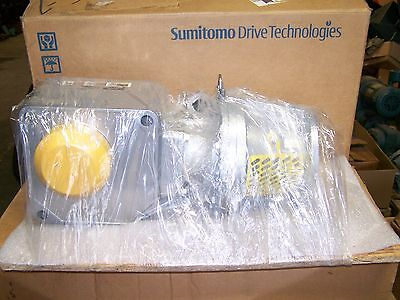 $600 • Buy Sumitomo RNYJS-1531Y-80 Hyponic Right-Angle Drive Gearbox 80:1 Ratio 2.07 HP New