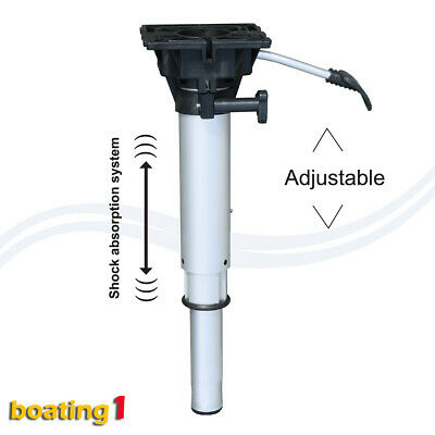 AU116.95 • Buy Quintrex / Stacer Boat Seat Pedestal Plug In Gas Lift & Suspension 420mm-530mm