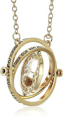 AU4.90 • Buy Harry Potter Gold Tone Hourglass Necklace Pendant Hermione Granger Time Turner