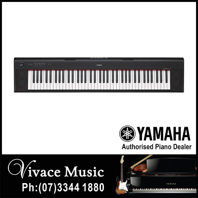 AU539.99 • Buy Yamaha NP32 Piaggero 76 Key Portable Digital Piano Keyboard - 5 YEAR WARRANTY