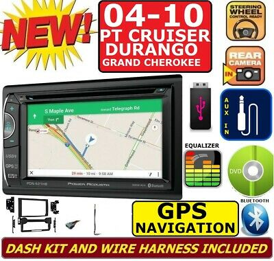 $289.99 • Buy 2004-2010 Pt Cruiser Durango Grand Cherokee Navigation Bluetooth Car Stereo