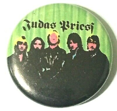 £2.99 • Buy JUDAS PRIEST - Old OG Vtg 1980`s Button Pin Badge 25mm (NOT Patch Tour Shirt)