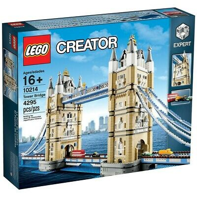 Lego Creator Expert Architecture 10214 London Tower Bridge: RETIRED, NEW, SEALED • 350£