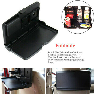 $ CDN23.70 • Buy Foldable Car Dining Table Travel Bus Rack Cup Holder Stable Multi-function Tray