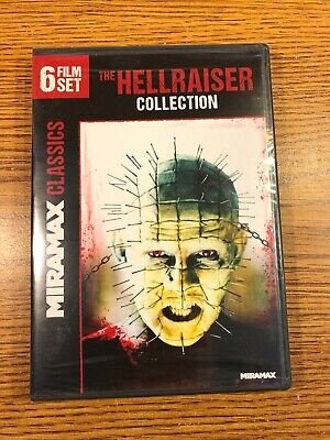 THE HELLRAISER COLLECTION Brand New 3 4 5 6 7 8 (6-Film Set) DVD Horror Pinhead • 12.05£