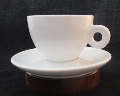 Illy Style Cappuccino Cup & Saucer Set Best Alternative! • 7.15£