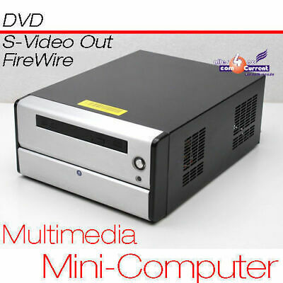 £103.58 • Buy Small PC CPU 1,6 GHZ S-VIDEO Tv-Out 80GB HDD 1 GB RAM DVD 12 Volt Power Supply