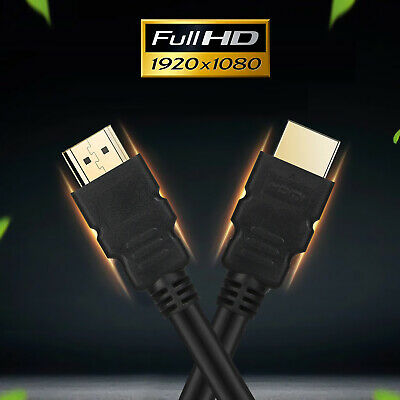 $ CDN10.01 • Buy LOT 1.5FT 2FT 3FT 6FT 10FT HDMI Cable Gold-Plated V1.4 1080P For 3D HDTV LCD PS3