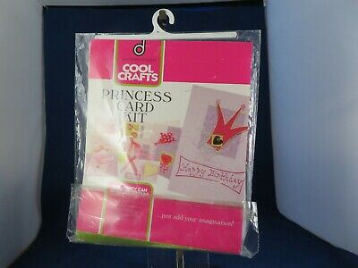 New Make 8 Princess Cards-Children's Card Making Kit -Dempsey Designs Ltd Age 6+ • 4£