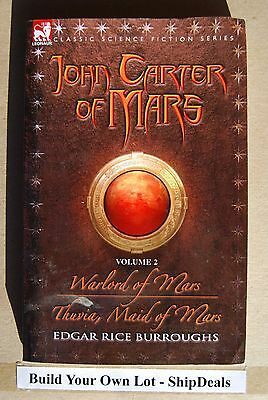 $7.46 • Buy John Carter Of Mars By Edgar Rice Burroughs #2 Warlord Thuvia Maid **ShipDeals**