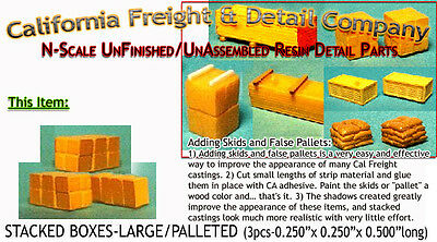 $ CDN4.48 • Buy California Freight STACKED BOXES-LARGE (3pcs) N/Nn3/1:160