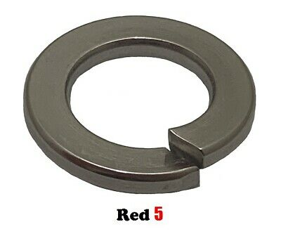 AU4.70 • Buy M8 (8mm) Spring Washer - Single Coil - Stainless Steel G304