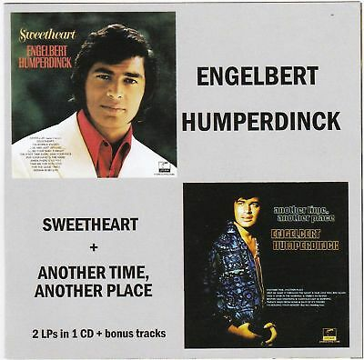 $10.99 • Buy Engelbert Humperdinck - Sweetheart + Another Time, Another Place ( AUDIO CD )