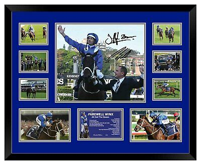 AU100 • Buy Winx Farewell 'all Hail The Queen' 33 Signed Limited Edition Framed Memorabilia