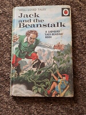 Vintage Ladybird Series 606d Well-loved Tales Jack And The Beanstalk  • 7.49£