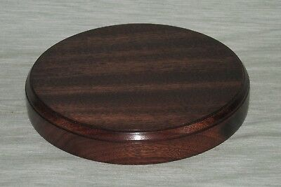 £12.99 • Buy Hardwood Display Plinths Bases Stands Solid Mahogany Oak Wood All Sizes Made