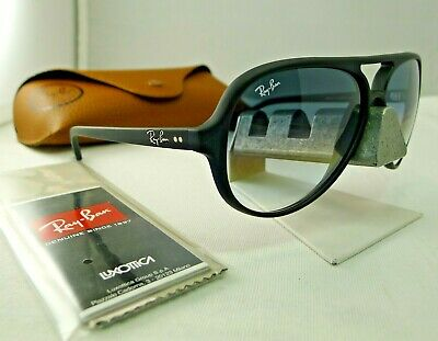 ce1db4643f1a8 Ray-ban Rb4125 601s 32 Cats5000 Black Light Grey Gradient Sunglasses 59mm  New •