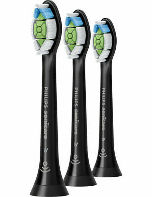 AU24 • Buy Philips Sonicare W Optimal White Replacement Electric Toothbrush Heads - Black