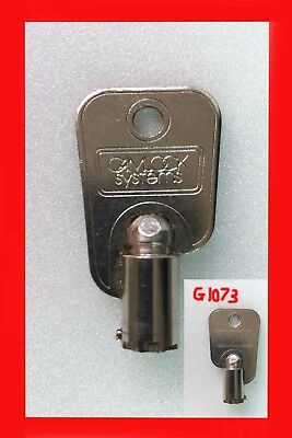 Camlock Systems Tubular Key / G1073 / Sweet Machine Vending Candy Dispensers / 1 • 9.99£