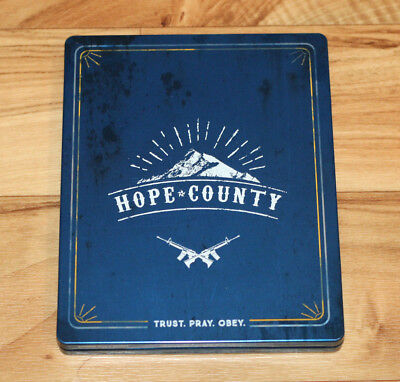 AU64.57 • Buy Far Cry 5 Farcry Hope County Steelbook Size : G2  Xbox One PS4 NO GAME