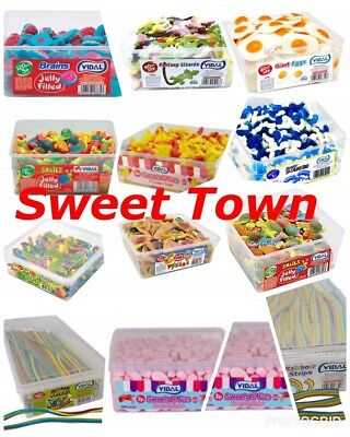 Vidal Sweets Tubs, Pencil And  Belts DIFFERENT TYPES Parties Weddings • 13.99£