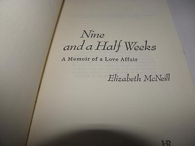 £8.06 • Buy NINE AND A HALF WEEKS By Elizabeth McNeill (1978 HC) E P Dutton New York
