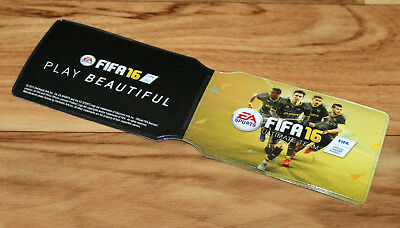 £21.81 • Buy FIFA 16 Ultimate Team Promo Card Holder EA Sports Games Xbox One 360 PS4 PS3